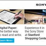 Sony Digital Paper Now on Display at Two US Store Locations