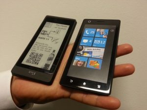 A New eInk Based eBook Reader for Your Smartphone