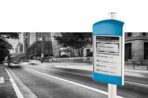 E Ink bus stop signs now available in Sydney