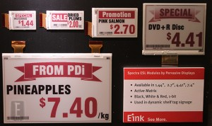E Ink Debuts Spectra and Aurora Digital Signage at SID 2013