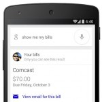 Google Now Can Remind You to Pay Your Bills