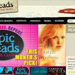 HarperCollins Lanches Teen Site Epic Reads