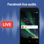 Facebook Launches Live Audio