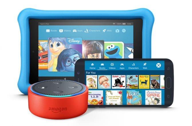 Amazon Freetime Unlimited adds 1,000 audiobooks