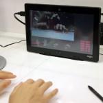 Fujitsu Demos Unique Virtual KeyBoard Tech at the MWC