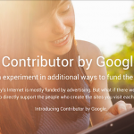 Support the People Who Make the Web with Google Contributor