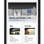 Good e-Reader News available on Google Currents