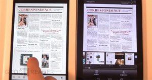 Google Nexus 7 vs Barnes and Noble Nook HD
