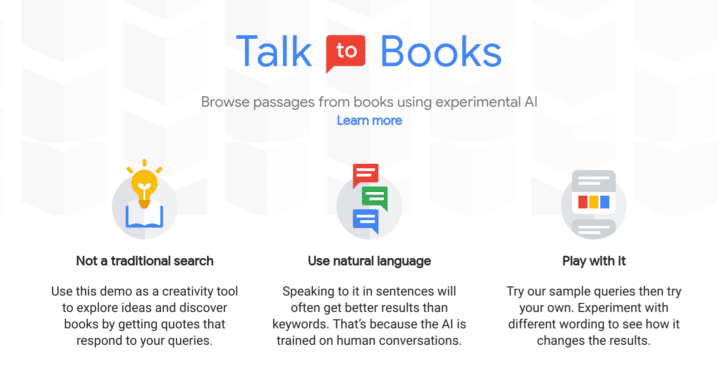 Image result for talk to books