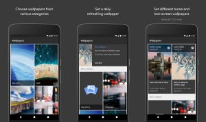 Google Wallpapers Now Available on Android