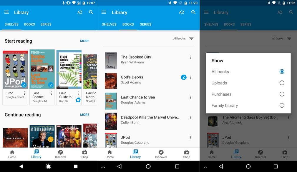 Full Google Play Book