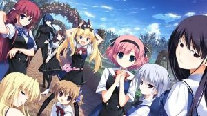 Grisaia Visual Novel Trilogy to be Released onto Steam