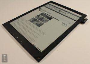 Sony Starts to Focus on Security for the Digital Paper DPT-S1