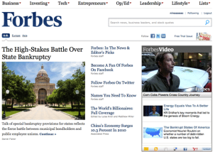Forbes is Finding Success with Telling People to Turn off their Ad-Blockers