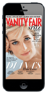 Vanity Fair's iOS Version Sorted by Reading Times