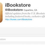 Apple iBooks launches official Twitter Account