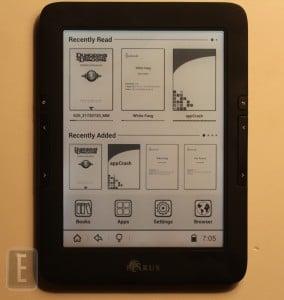 How to load eBooks on the Icarus Illumina E653