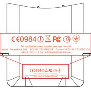 Pocketbook 603 and 903 e-Reader at the FCC – Details revealed