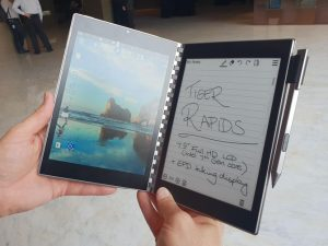Intel Tiger Rapid features an E Ink Screen
