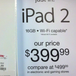 TJ Maxx offering iPad 2 for $399