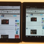 Apple iPad Mini and Amazon Kindle Fire HD 7 Comparison
