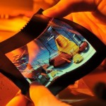 ITRI introduces new flexible color AMOLED display