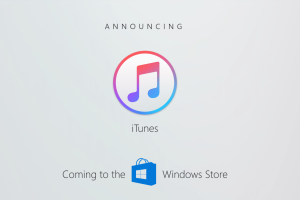 iTunes is coming to the Windows App Store