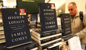 Amazon has suspended reviews on James Comey's new book