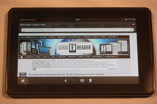 kindle fire 3g
