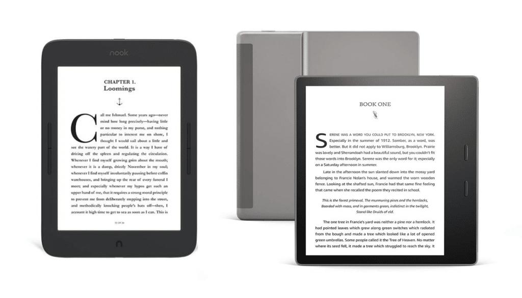 Kindle Vs Sony Reader: Barnes And Noble Nook Glowlight Plus Vs Kindle Oasis 3