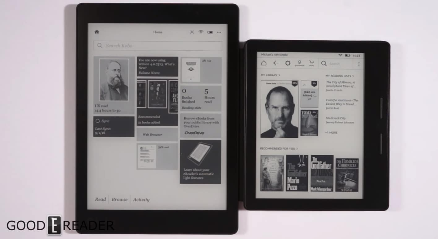 kindle-oasis-kobo-kura-one
