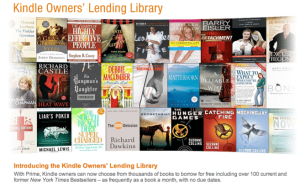 Amazon Kindle Lending Library Tops 100,000 eBooks