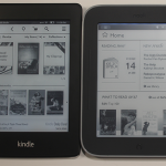 Amazon Kindle PaperWhite VS. Nook Simple Touch with Glowlight