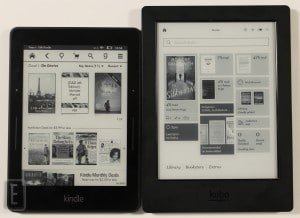 Kobo Aura H2O vs Amazon Kindle Voyage