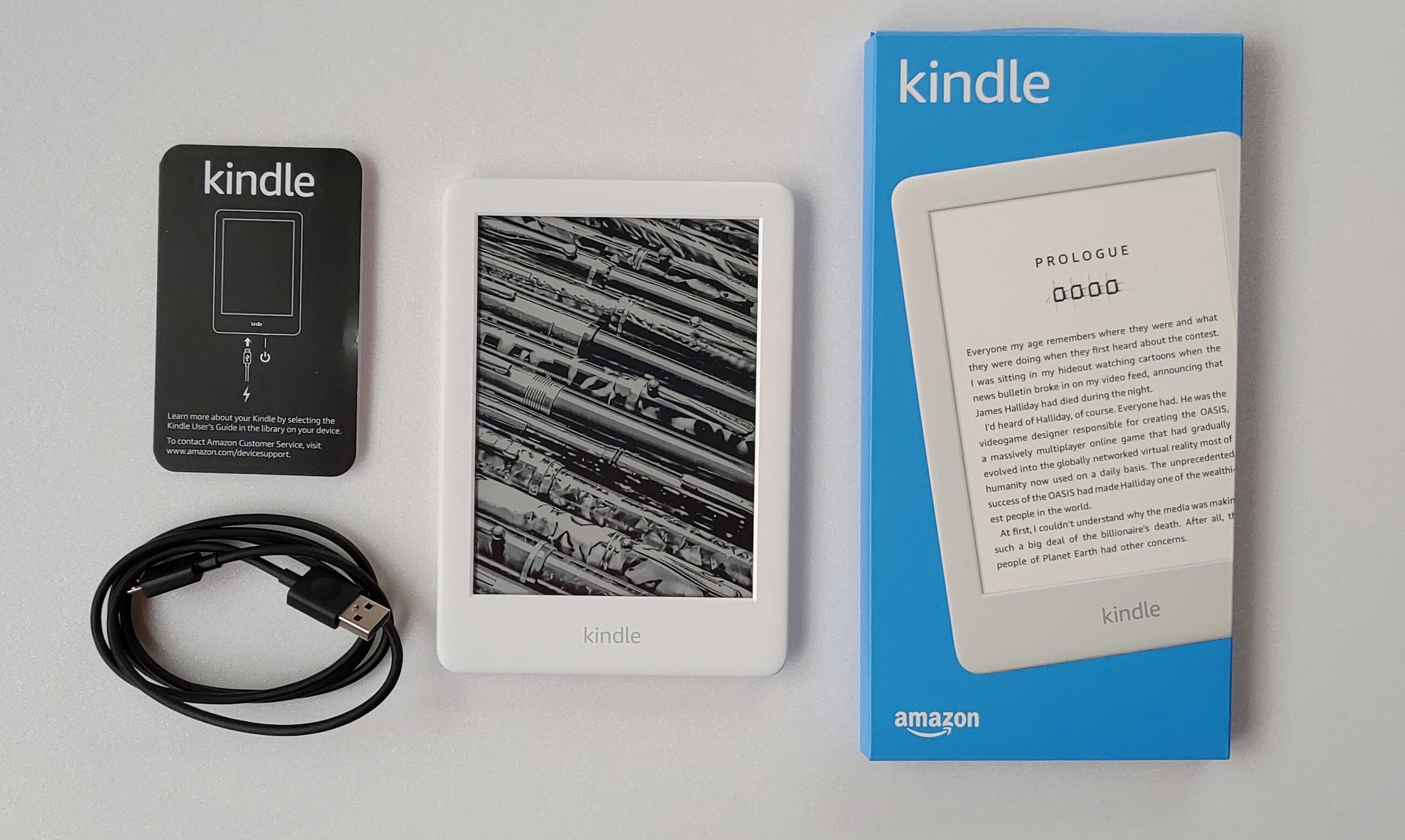 Unboxing The Brand New Amazon Kindle Basic 2019