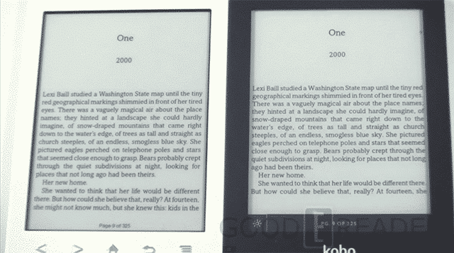 Kindle Vs Sony Reader: Kobo Glo And Sony Prs-t2