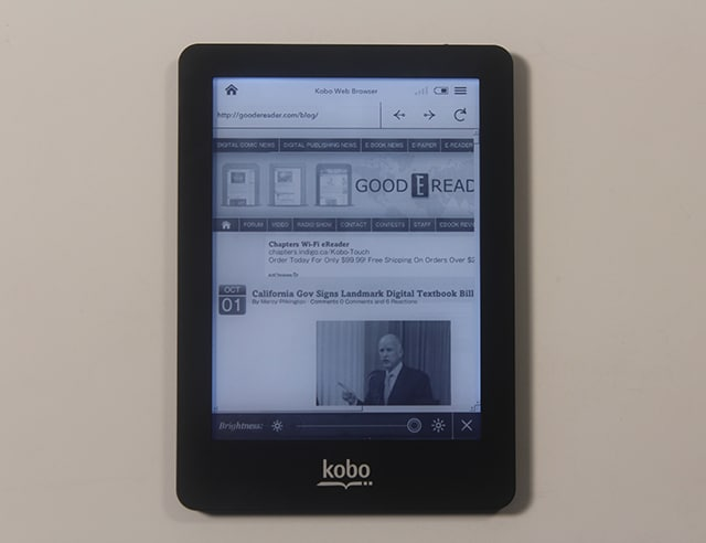 Kindle Vs Sony Reader: Hands On Review Of The Kobo Glo EReader