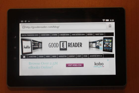 The Kobo Vox is Having Some Problems