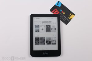 How to borrow ebooks from Overdrive on a Kobo e-reader