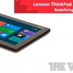 Lenovo ThinkPad Tablet 2 Leaks Ahead Of Launch