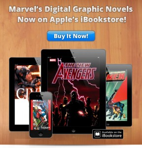 Marvel Launches Graphic Novels in the iBookstore