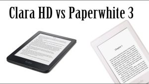 Amazon Kindle Paperwhite 3 vs Kobo Clara HD