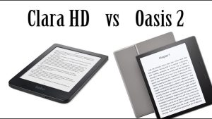 Kobo Clara HD VS Amazon Kindle Oasis 2