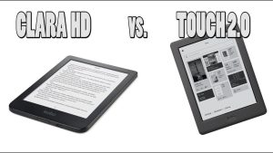 Kobo Touch 2.0 vs Kobo Clara HD