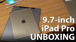 Apple iPad Pro 9.7 Unboxing