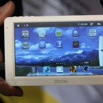 The Maylong MG-550 GPS Tablet PC at CES