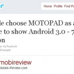 Motorola's Motopad to be the first Honeycomb tablet