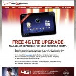 Motorola Xoom 4G upgrade set for September Release