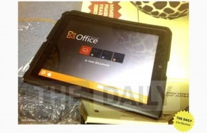 MS Office for iPad Leaked