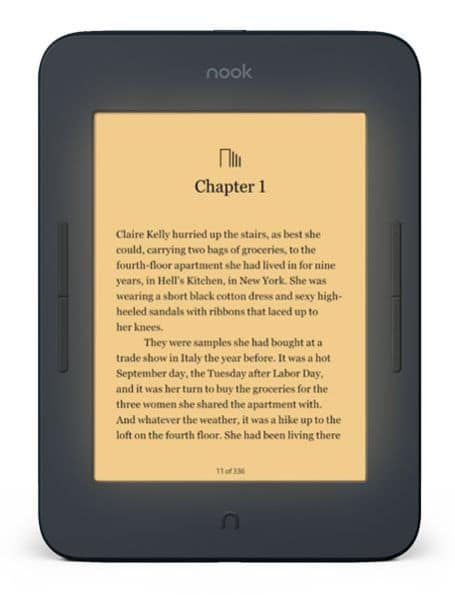 Barnes and Noble NOOK GlowLight 3